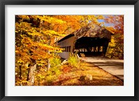 Framed Albany Covered Bridge, New Hampshire