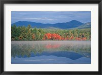 Framed Chocorua Lake, White Mountains, New Hampshire