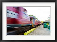 Framed Scenic railroad, Laconia, New Hampshire