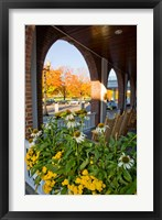 Framed Hanover Inn, Dartmouth College Green, Hanover, New Hampshire
