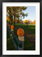Framed Dartmouth College Green, Hanover, New Hampshire
