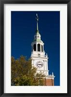 Framed Baker Hall on the Dartmouth College Green in Hanover, New Hampshire