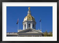 Framed New Hampshire, Concord, New Hampshire State House, exterior