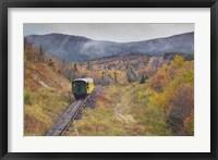 Framed New Hampshire, White Mountains, Mount Washington Cog Railway