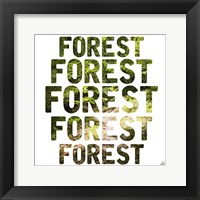 Framed Forest Repeat