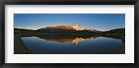 Framed Sunrise over Mt Fitzroy, Argentina