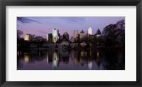 Framed Atlanta at Dusk