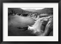 Framed New River Falls, West Virginia