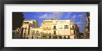 Framed Buildings in Barcelona, Spain