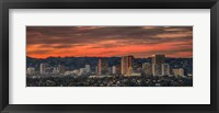 Framed Century City, Hollywood Hills, Los Angeles, California