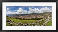 Framed Saksaywaman, Cusco, Peru