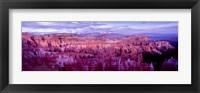 Framed Bryce Canyon, Utah