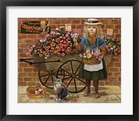 Framed Liza Flower Girl
