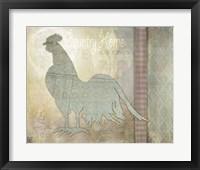 Framed Morning Chicken 3