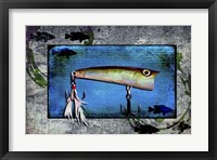 Framed Fishing - Bass Lure Poppy