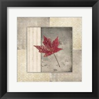 Framed Lodge Leaf Tile 1