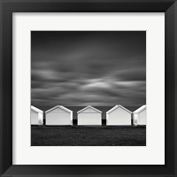 Framed Beach Noir