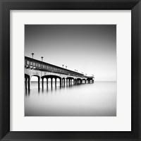 Framed Boscombe Pier II