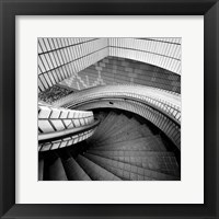 Framed Hong Kong Staircase