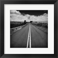 Framed Kauai Road
