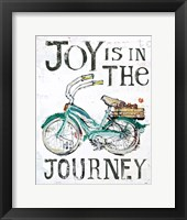 Framed Joy is in the Journey