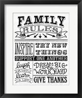 Framed Family Rules II