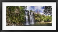 Framed View of Waterfall, Cortes, Bagaces, Costa Rica