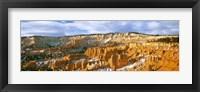 Framed Bryce Amphitheater from Sunrise Point, Utah