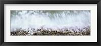 Framed Rocks of Calumet Beach, La Jolla, San Diego, California