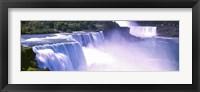 Framed Niagara Falls, Niagara River, New York