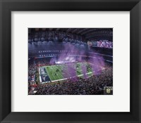 Framed NRG Stadium after the New England Patriots won Super Bowl LI