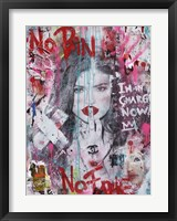 No Pain No Fame (Kylie) Framed Print