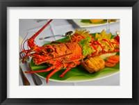 Framed Lobster Dish, Fiji