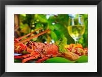 Framed Cuisine, Lobster, Fiji