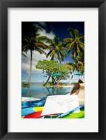 Framed Poolside, Beqa Lagoon Resort, Beqa Island, Fiji