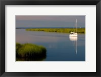 Framed Sailboat, Connecticut River