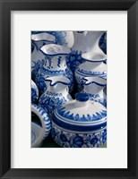 Framed Slovakia, Bratislava, souvenir pottery