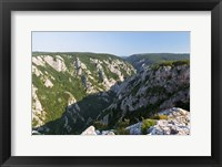 Framed Gorge of Zadiel in the Slovak karst, Slovakia