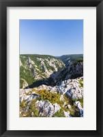 Framed Gorge of Zadiel in the Slovak karst, National Park Slovak Karst, Slovakia