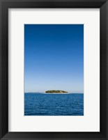 Framed Beachcomber Island, Mamanucas Islands, Fiji, South Pacific