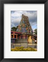 Framed Sri Siva Subramaniya Hindu temple in Fiji