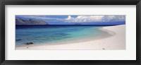 Framed Island in the sea, Veidomoni Beach, Mamanuca Islands, Fiji