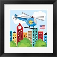 Framed Helicopter Rescue