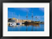 Framed St. Malo Marina