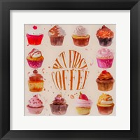 Framed Cupcake Square