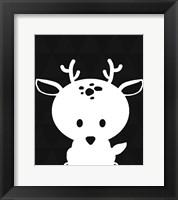 Framed Woodland Deer