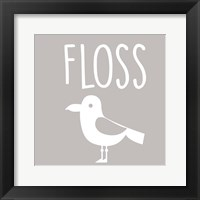 Framed Sea Creatures-Floss