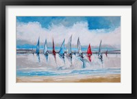 Framed Boats I