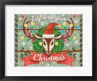 Framed Light Up Your Christmas
