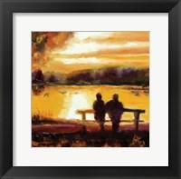 Framed Couple Sunset